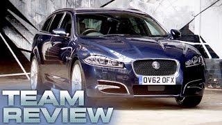 Jaguar XF Sportbrake (Team Review) - Fifth Gear
