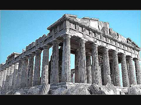 Learn and talk about post and lintel ancient roman architectural