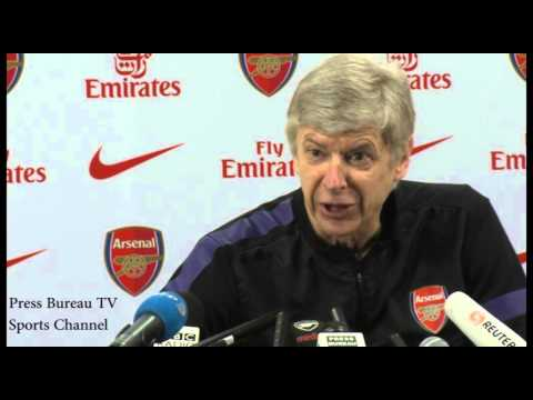 Arsene Wenger Press Conference Pre Tottenham