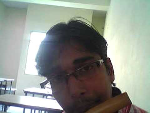 aoge jab tum saajna jub we met on flute by shradheya