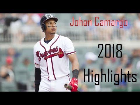 Johan Camargo - 2018 Highlights   Atlanta Braves