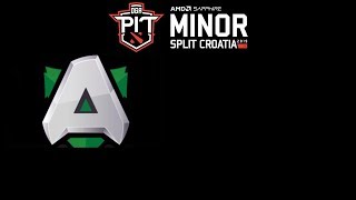 Alliance vs Goblin Legs DOTA PIT Minor 2019 Highlights Dota 2