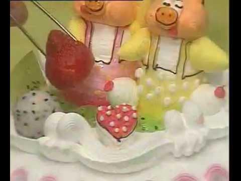 Hướng dẫn làm bánh sinh nhật - Phần 4