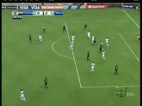Mexico vs Hondura 2 - 0