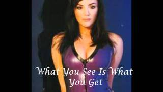 Watch Martine McCutcheon What You See Is What You Get video