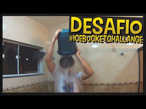 Desafio do Balde de Gelo #IceBucketChallenge - Vlog
