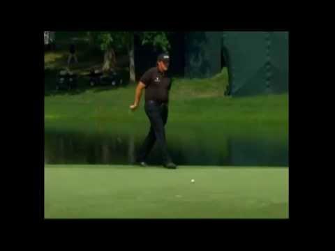 Phil Mickelson Wells Fargo 2015 Highlights