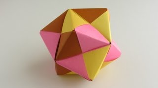 Origami Sonobe Octahedral Unit