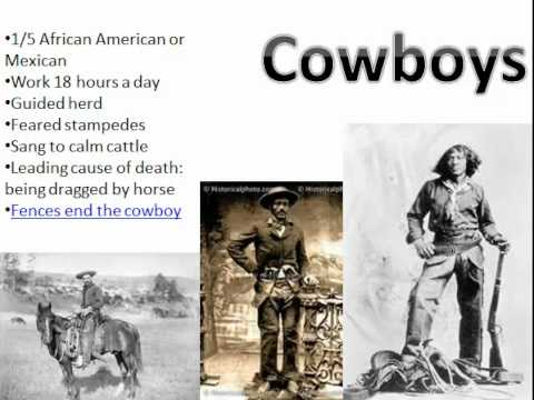 Cowboys & Homesteaders Presentation