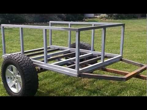 Trailer build for CVT roof top tent part duex.