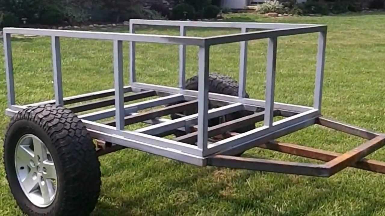 trailer build for cvt roof top tent part duex youtube. Black Bedroom Furniture Sets. Home Design Ideas