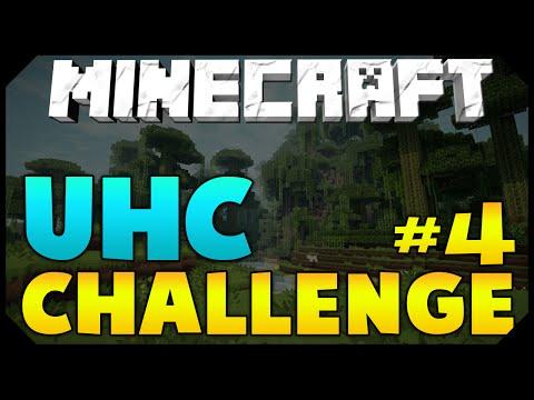 Minecraft: UHC CHALLENGE #4 [LEVEL 30 ENCHANTMENT] w/ AciDic BliTzz! (Survival)