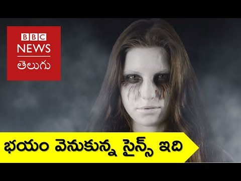 WHY WE LOVE TO BE SCARED - BBC News Telugu