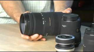 An overview of digital SLR lenses