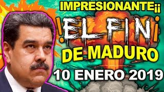 ¡¡IMPRESIONANTE¡¡ EL FIN DE MADURO EN VENEZUELA 10 ENERO NEGOCIANDO EN SECRETO ¡ULTIMO MINUTO¡