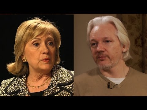 "WikiLeaks' Julian Assange Responds to Hillary Clinton: Fair U.S. Trial for Snowden ""Not Possible"""