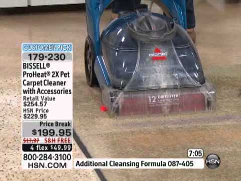 BISSELL ProHeat 2X Pet Carpet Cleaner with Accessories