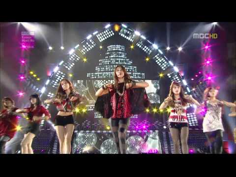 120428 Mbc Korean Music Wave In Bangkok T-ara - Roly Poly video
