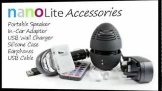 The nanoLite MP3 Value Pack Accessories