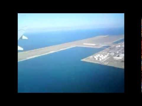 World's biggest ever construction - Kansai man-made island airport