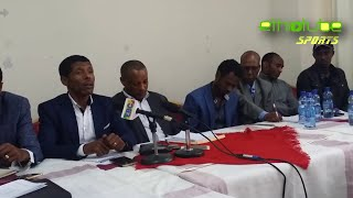 Athlete  Haile G-Selassie Q&A at Ethiopian Athletics Federation Press Conference