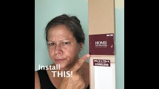 Install Blinds Home Decorators Collection