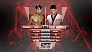 MIX FIGHT - MOHAMMED EL OUARIACHI vs DAVID AVETISYAN