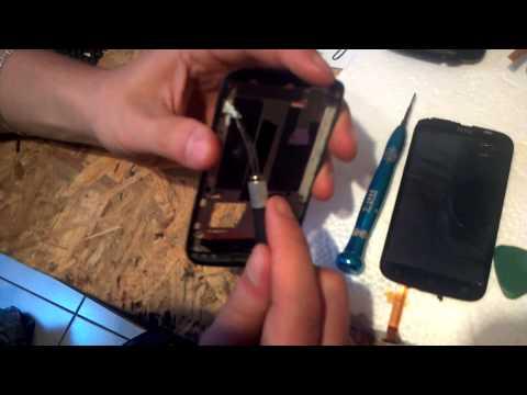 Замена дисплея на телефоне htc desire x