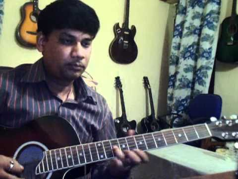 Dilbar mere on Guitar