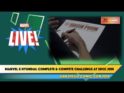 Marvel x Hyundai: Complete & Compete Challenge at SDCC 2018