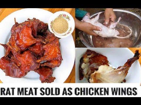 "Rat Meat Being Sold In America as ""Boneless Chicken Wings"