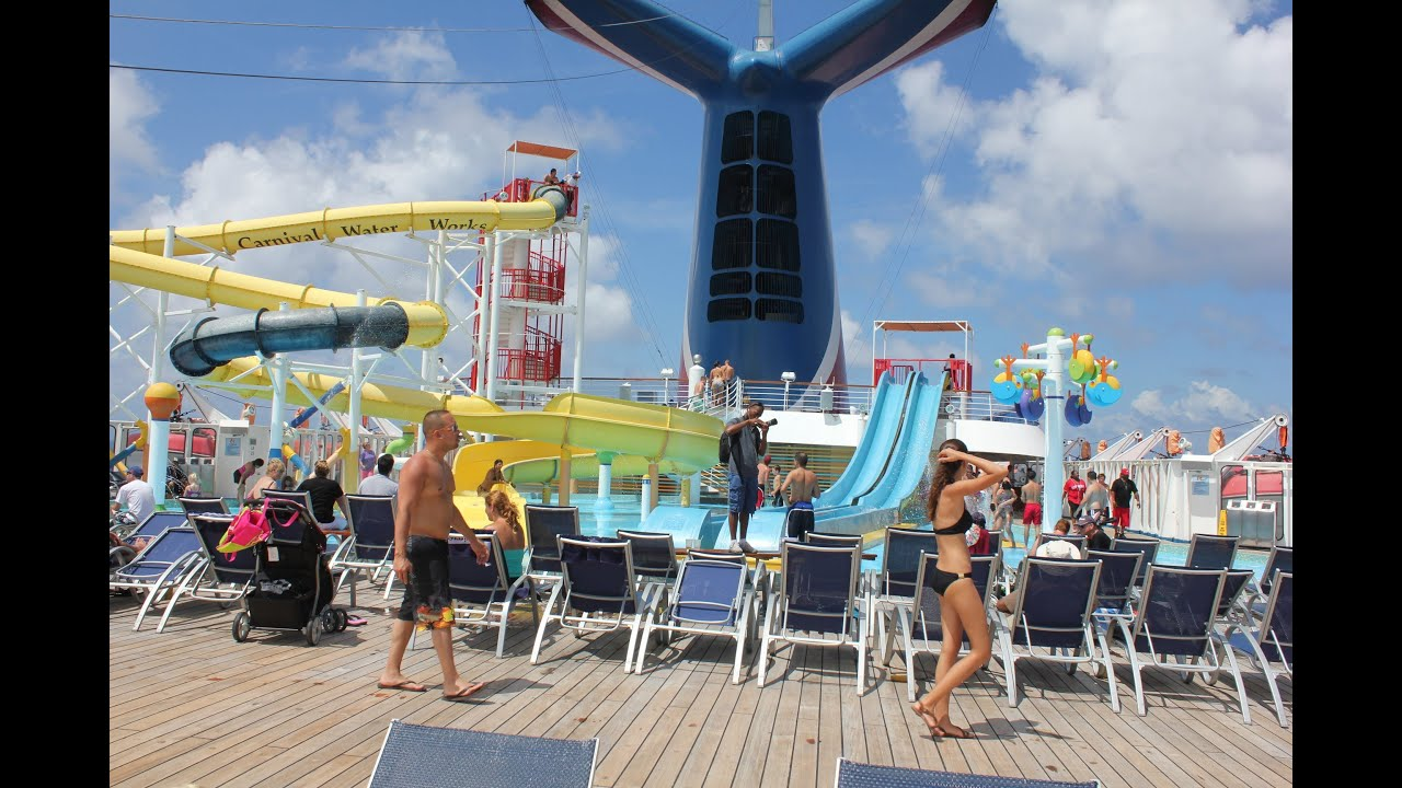 Hd Tour Of Carnival Cruise Carnival Sensation