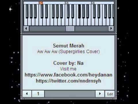 Semut Merah - Aw Aw Aw (Supergirlies Cover) [Synth