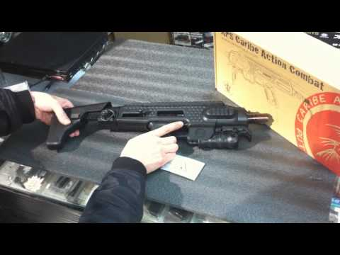 Airsoft-war4.com - APS Caribe Action Combat Glock Conversion Kit DEMO