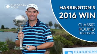 Pádraig Harrington's 2016 Portugal Masters Win | Classic Round Highlights