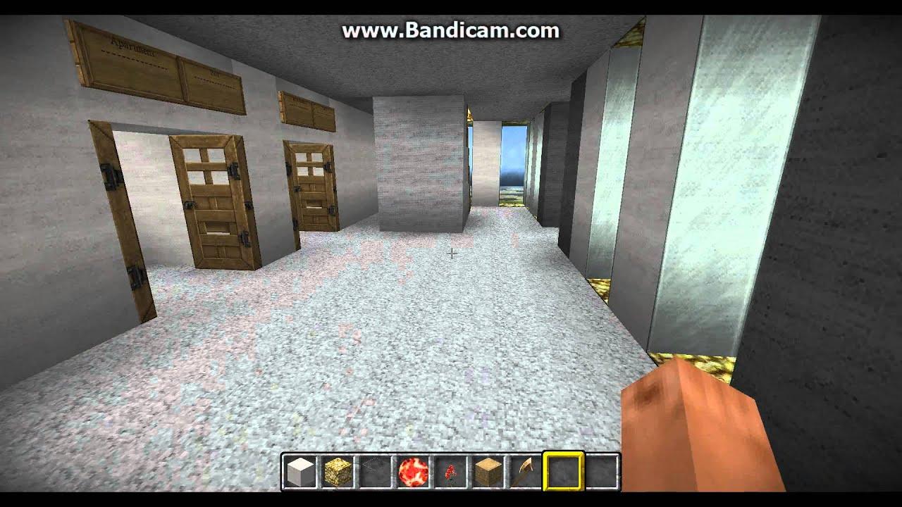 minecraft modern apartment turtorial part 2 interior