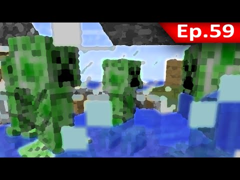 Tackle⁴⁸²⁶ Minecraft 1.7.9 #59 Spawn Monster: ครีปเปอร์ระเบิดตู้มม