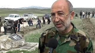 Ծառատունկ ռուս զինվորի մահացած տեղում