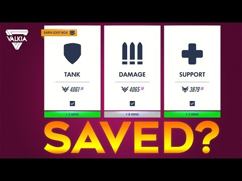 Overwatch Role Queue, the saviour we need? My Thoughts on 2-2-2 | Valkia