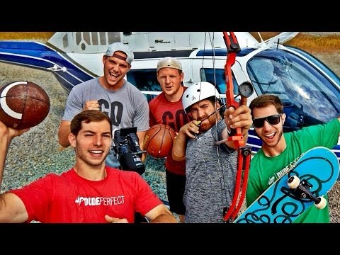 Extreme Trick Shots | Dude Perfect video