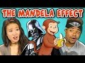10 CREEPY MANDELA EFFECTS WITH COLLEGE KIDS (React)