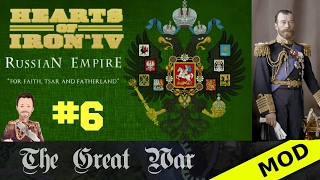 Hearts of Iron 4 - Great War Mod - Russian Empire - Episode 6