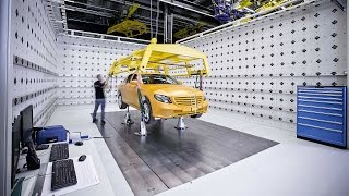 Mercedes-Benz - The new technology centre for vehicle safety (TFS)