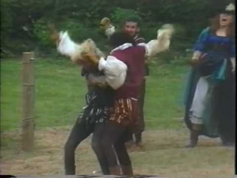 Essex vs Ralegh Fight 1987 Melee PA Ren Faire