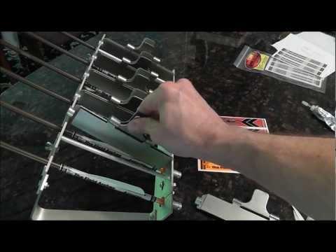 THE ARCHERY REVIEW: Repair. wrap and fletch arrows using the JoJan Multi-Fletcher