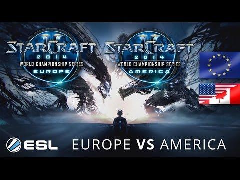 Europe vs. America - WCS 2014 Season 1 - StarCraft 2