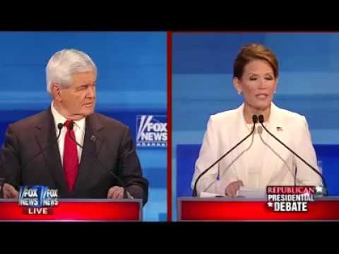 Michele Bachmann, Newt Gingrich spar on Partial Birth Abortion, Planned Parenthood