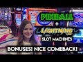 Lagu Lightning Link Sahara Gold + Pinball Slot Machine BONUSES! Nice Comeback!!