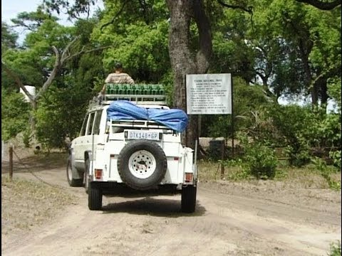 Road from Savute to Linyanti, Botswana 4X4. Travel guide.