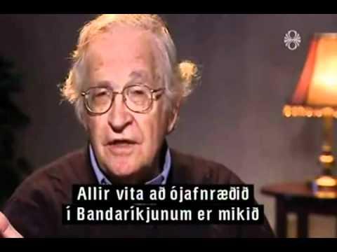 Noam Chomsky - Silfur Egils Interview